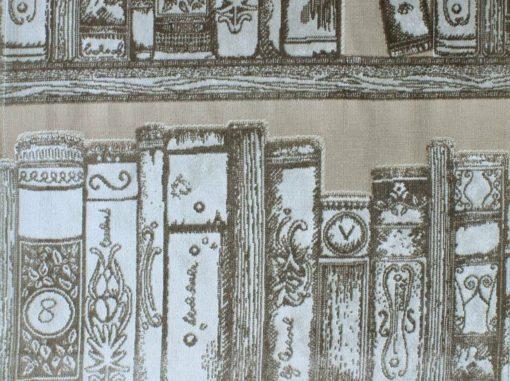 Kirjasto kangas, Archiva Voyage Sisustusstudio Vitriini
