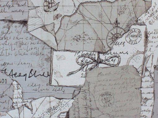 Explorer kangas Voyage kangas Sisustusstudio Vitriini