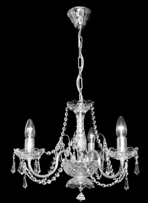 Kristallikruunu Titania Lux 237   Sisustusstudio Vitriini