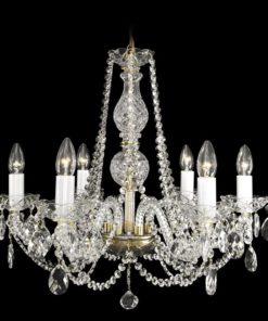 Kristallikruunu Titania Lux Sisustusstudio Vitriini moderni kristallivalaisin laadukas kristallikruunu