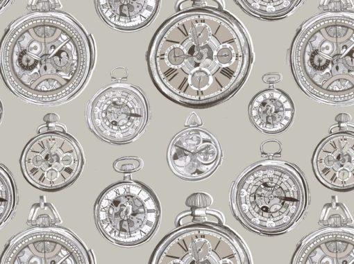 Tapetti Pocket watch | Sisustusstudio Vitriini