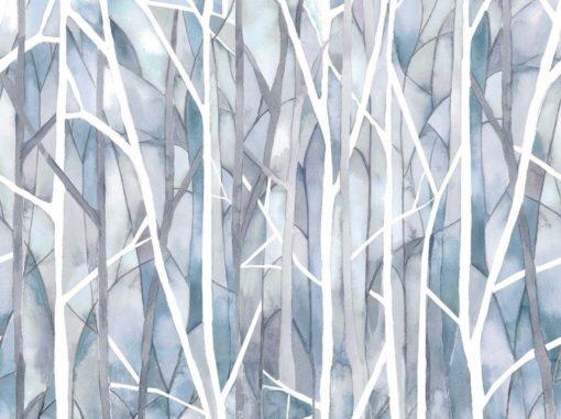 Tapetti hämärä metsä Woodbury | Sisustusstudio Vitriini