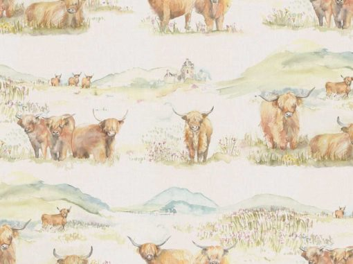 Tapetti Highland Cattle | Sisustusstudio Vitriini