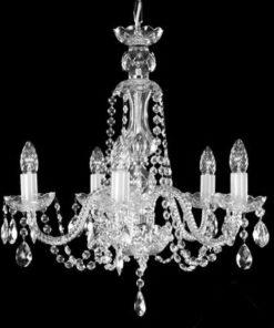 laadukas, hopea, kristallilamppu,moderni kristallivalaisin Sisustusstudio Vitriini Tsekkiläinen kristalli, kristallirruunu