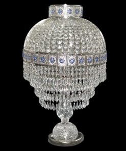 Tyylikaluste sininen sisustus Titania Sisustusstudio Vitriini
