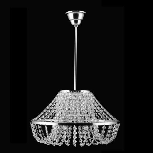 Hyvä valo kristallilamppu Titania Sisustusstudio Vitriini