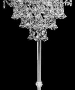 Moderni lattiavalaisin Tsekkikristalli Titania Sisustusstudio Vitriini