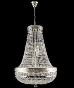 Pussivalaisin klassinen kristallilamppu Titania Sisustusstudio Vitriini