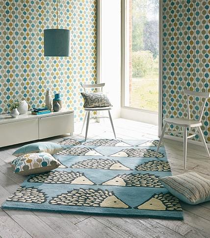 Lasten huone uusi ilme akustiikka pehmeä matto