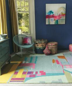 Lastenhuoneen matto Harlequin Sisustusstudio Vitriini