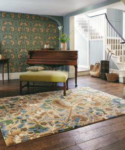 William Morris villamatto olohuoneen kukkamatto Sisustusstudio Vitriini