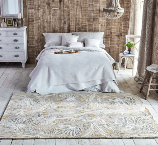 William Morris makuuhuoneen villamatto Sisustusstudio Vitriini