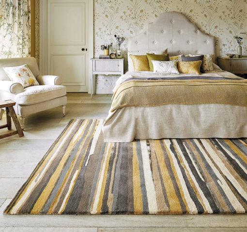 makuuhuoneen matto paksu villamatto Sisustusstudio Vitriini