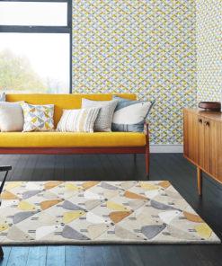 Kaunis koti pehmeä matto Harlequin Sisustusstudio Vitriini