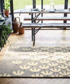 Skandinaavinen sisustus pehmeä matto laadukas Sisustusstudio Vitriini