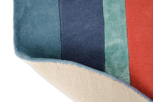 Sisustusstudio Vitriini villamatto matto Ted Baker TedBaker geometrinen raita sininen