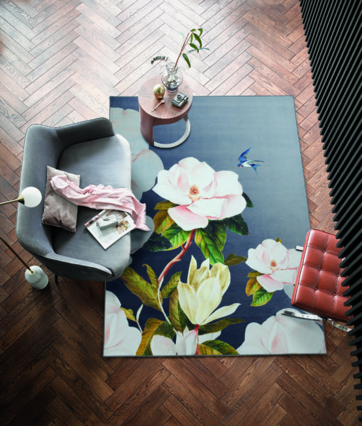 Ted Baker Oval matto interior kukkakuvio Siisustusstudio Vitriini