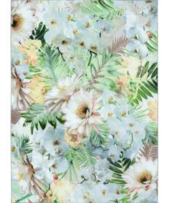 Ted Baker matto matto Woodland kukka turkoosi vihreä Sisustusstudio Vitriini