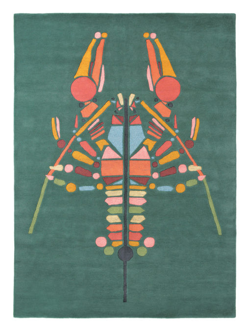 villamatto matto Ted Baker Emerging Lobster rapu hummeri Sisustusstudio Vitriini
