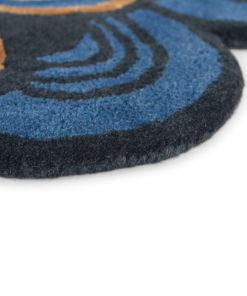 Teb Baker villamatto sininen matto Sisustusstudio Vitriini