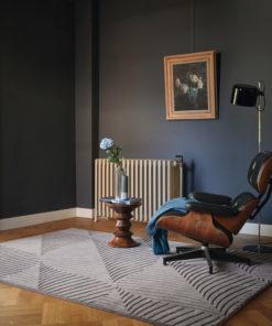 Työhuoneen matto villamatto Harleguin Sisustusstudio Vitriini